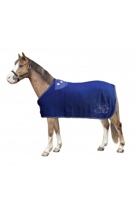 pony fleece cooler -bellamonte blue-