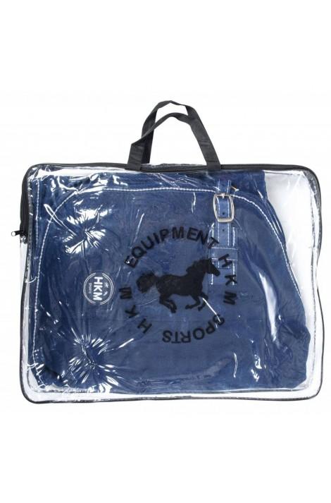 fleece cooler -madrid deep blue-