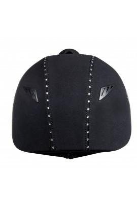 -diamond lily- riding helmet