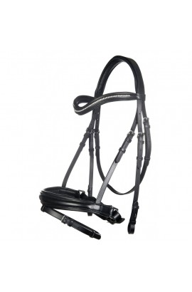 bridle + reins -anna II- with gel padding