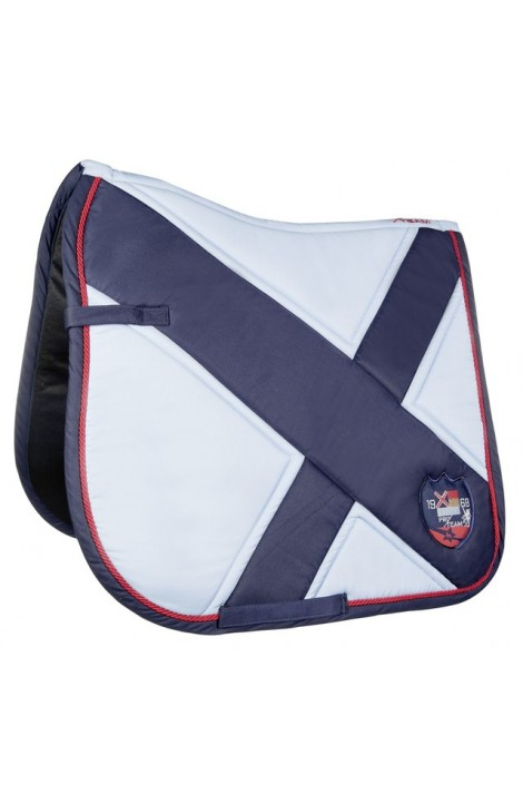 babyblue/blue -county- saddle cloth