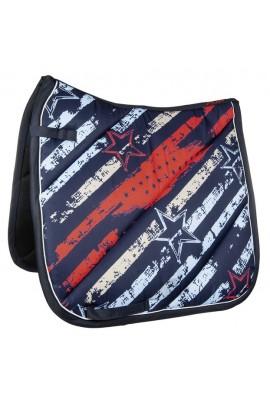 -county-flag- saddle cloth