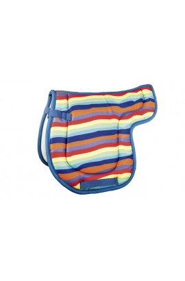 -rainbow- shetland pony saddle cloth