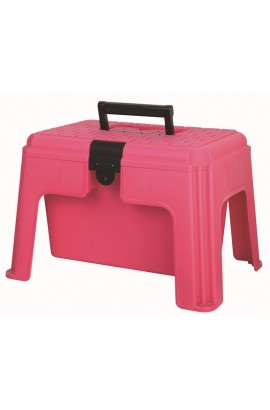 pink -step up- grooming box